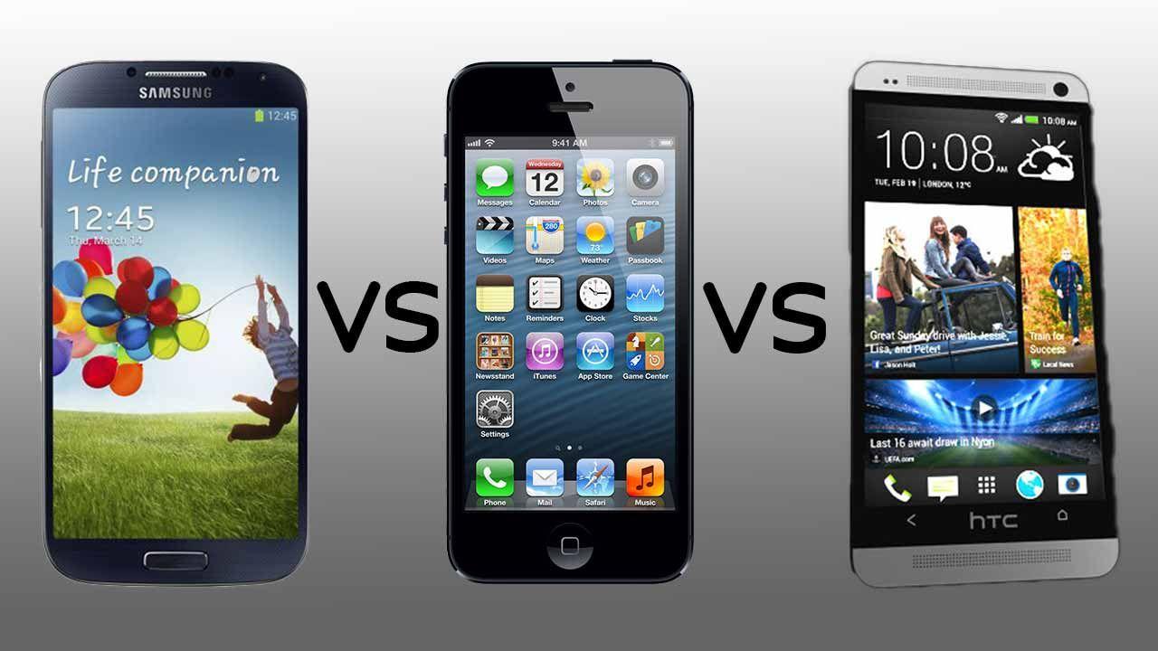 iPhone 5 vs HTC One X+
