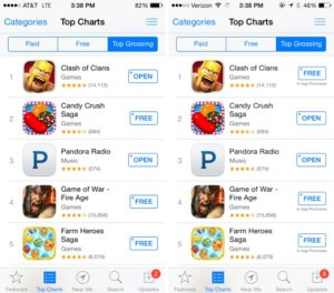 In-App purchases feature - iOS 7.1.1 version