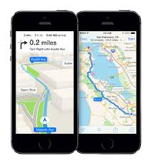 iOS 8 version maps