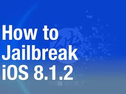 Jailbreak 8.1.2 iOS version with TaiG