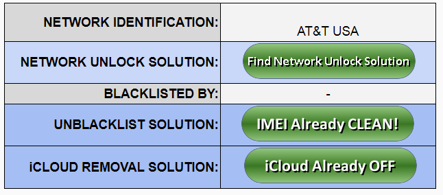 Network iPhone IMEI Check user friendly GSX report