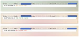iCloud IMEI Check