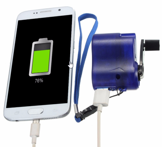 dynamo emergency charger for mobile phone