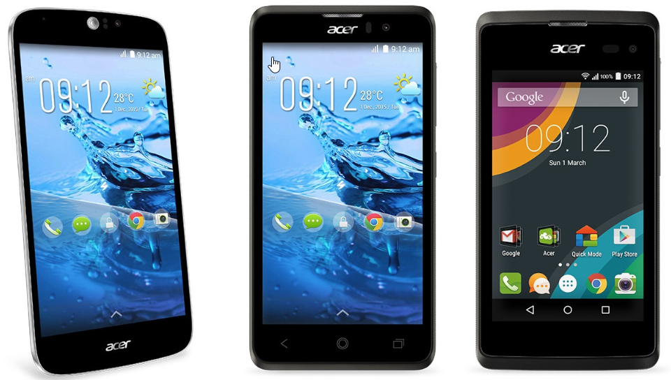 Acer IMEI Check Smartphone list