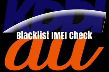 KDDI Blacklist IMEI Check Service   How to verify a mobile's
