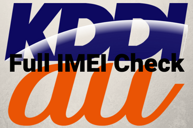 KDDI Japan IMEI Check vs KDDI Blacklist IMEI Check