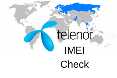 Telenor IMEI Check vs Telenor Blacklist IMEI Check